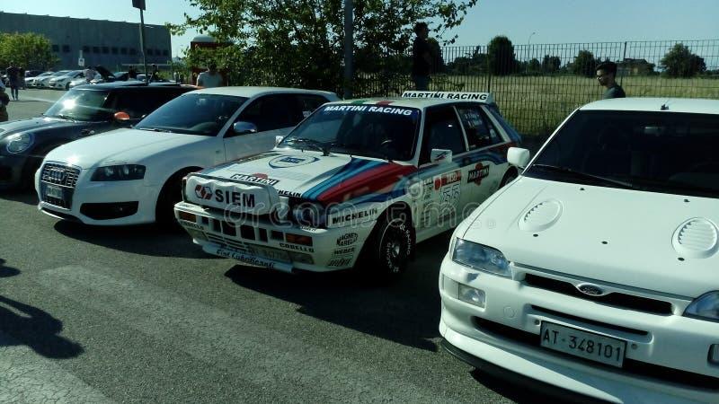 Delta Integrale de Lancia foto de archivo
