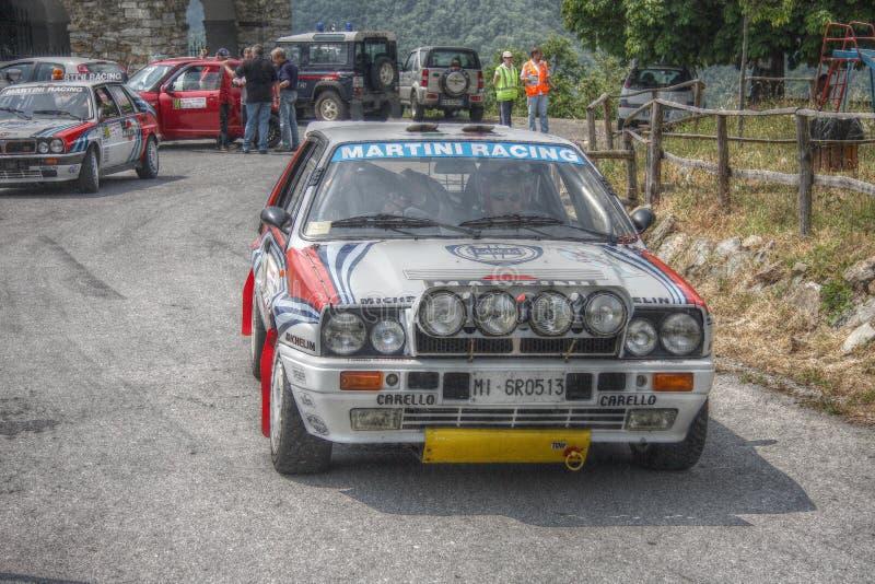 Delta Integrale de Lancia imagen de archivo libre de regalías