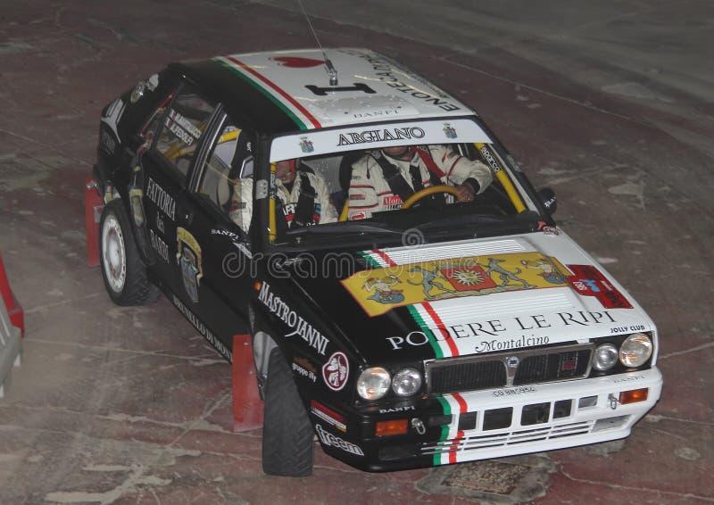 Delta Integrale de Lancia imagenes de archivo