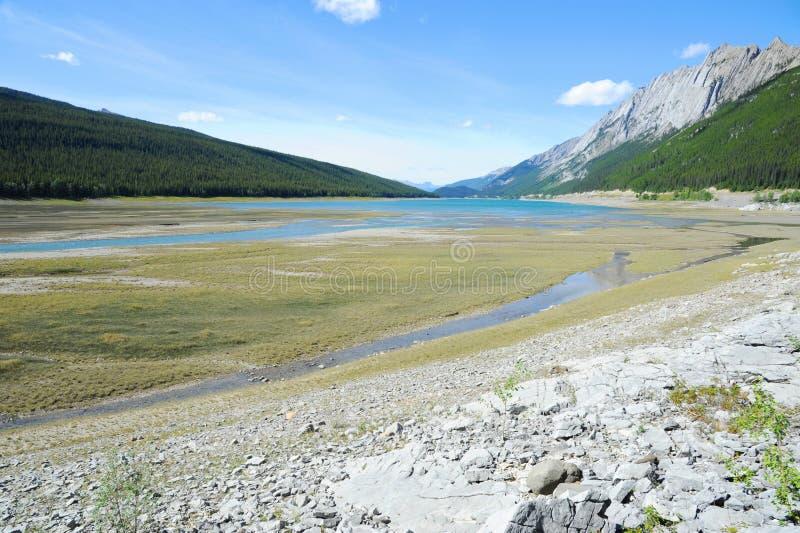 Download Delta of Medicine Lake stock image. Image of canada, genuine - 24146097
