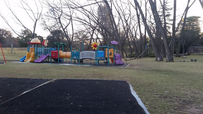 Delta Park Playground. Johannesburg South Africa royalty free stock photography