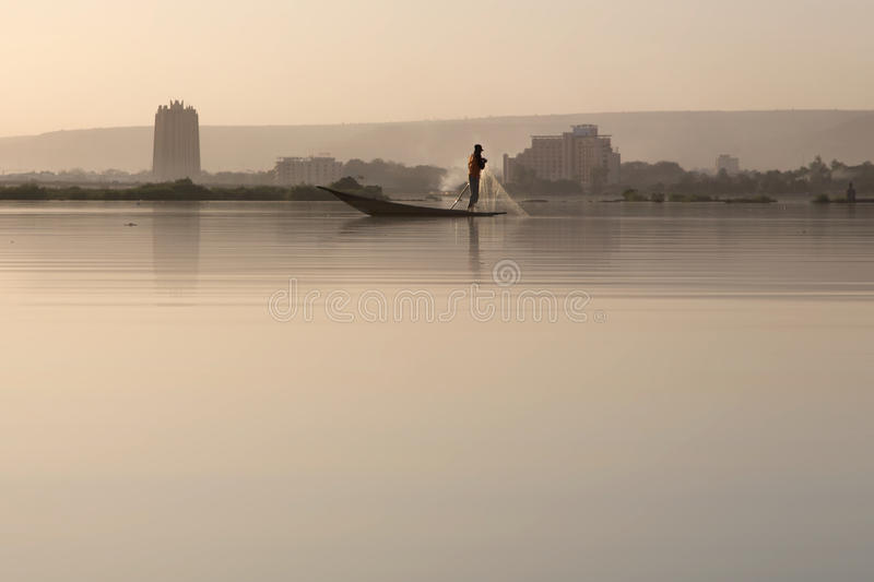 delta styl życia Niger fotografia royalty free