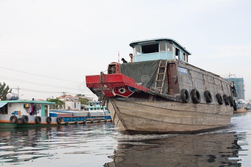 Delta Vietname de Mekong River foto de stock royalty free