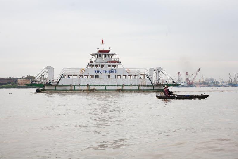 Delta Vietname de Mekong River fotografia de stock royalty free