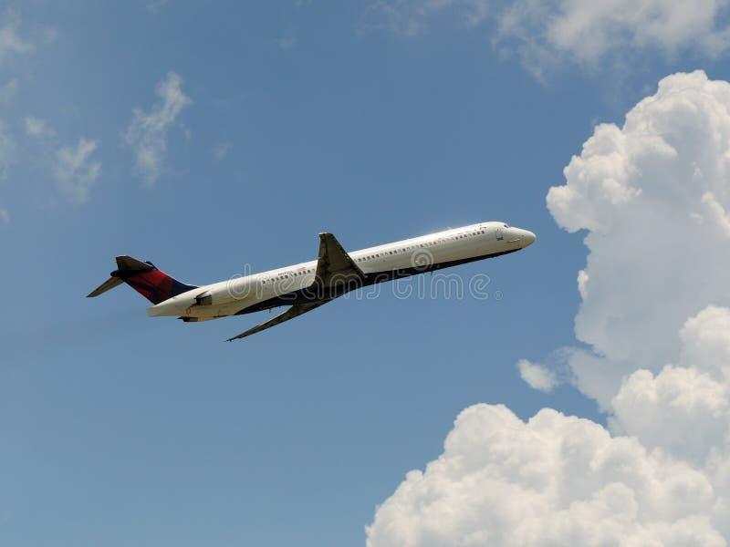deltadouglas mcdonnell för 88 flygbolag md royaltyfria foton