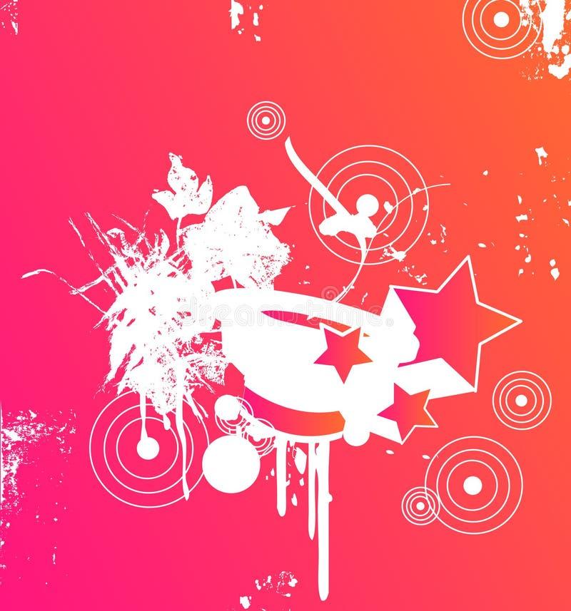 deltagarepink royaltyfri illustrationer