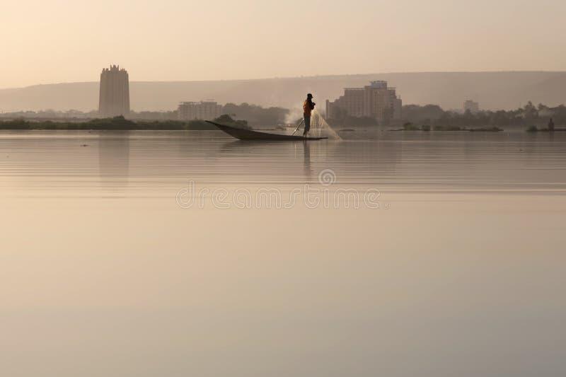deltalivsstil niger royaltyfri fotografi