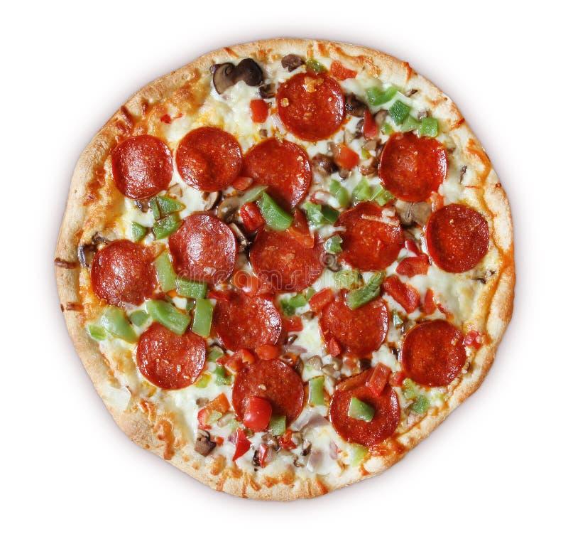 Deluxe Pizza stockbilder
