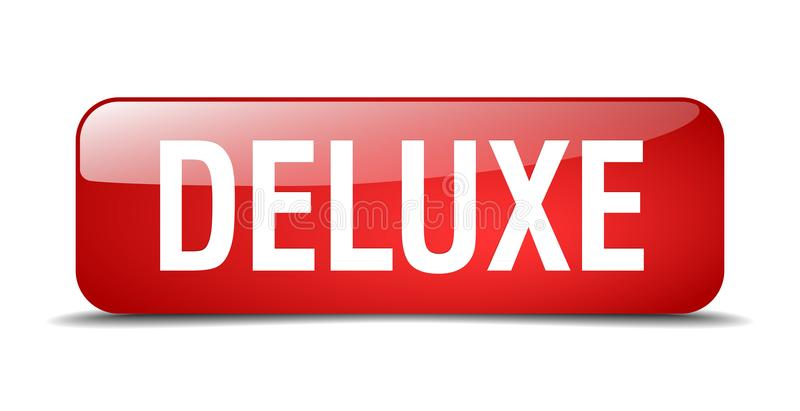 deluxe button royalty free illustration