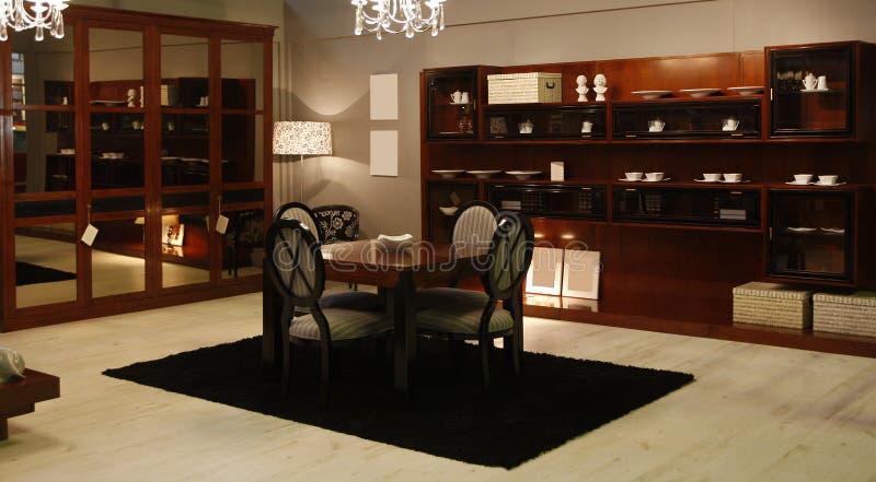 Deluxes Wohnzimmer stockfotos
