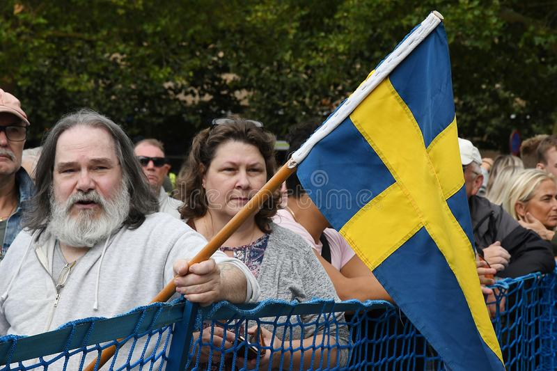 Demócrata sueco Jimmy Aakenson del kesson del ½ del ¿del ï de Jimmy fotografía de archivo