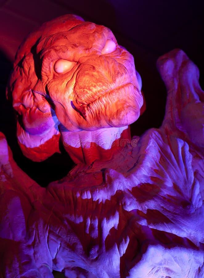 Demónio de Halloween imagens de stock