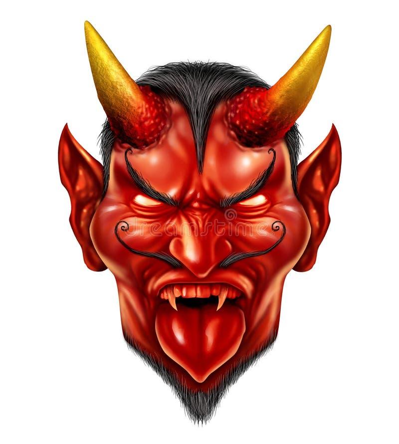 Demônio do diabo ilustração stock