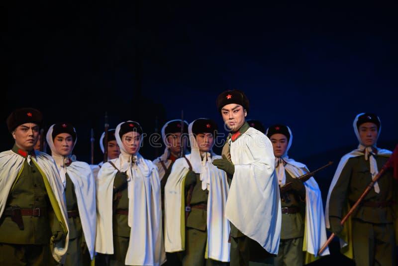 """Demande active de participer à l'opéra de combat-Pékin """"Taking le  de € de Tiger Montain By Strategyâ images libres de droits"""