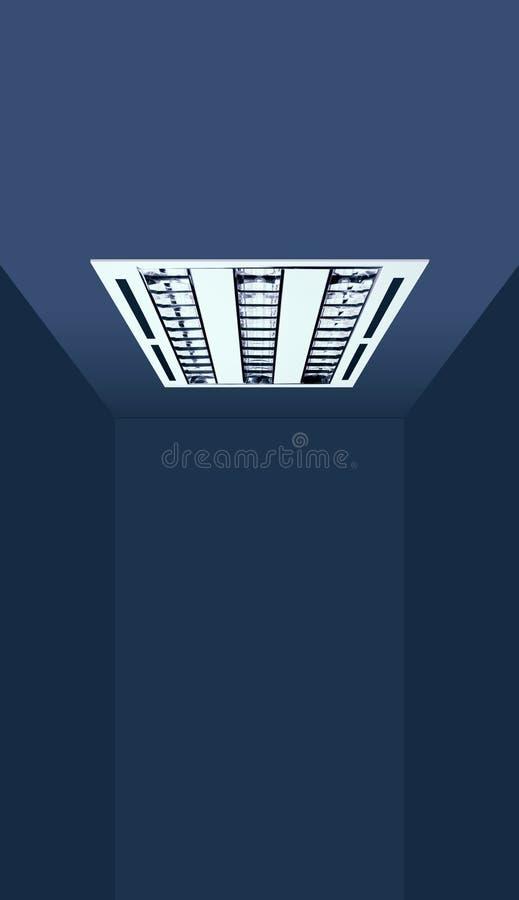 Demande d'éclairage d'appareil d'éclairage enfoncé de Chambre photographie stock libre de droits