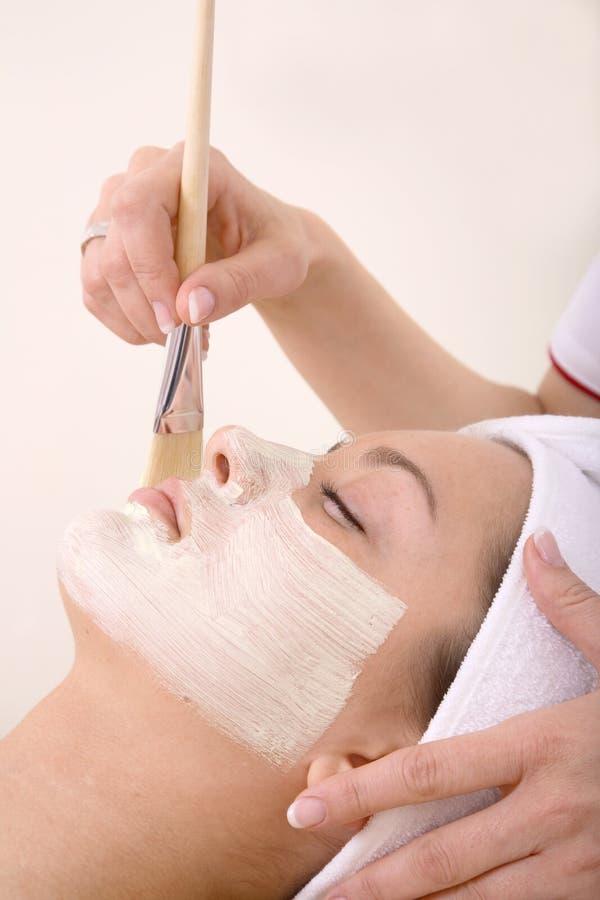 Demande de règlement de Skincare images stock