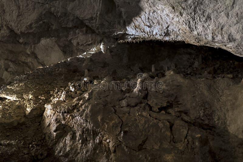 Demanovska-Höhle der Freiheit, Slowakei lizenzfreies stockbild