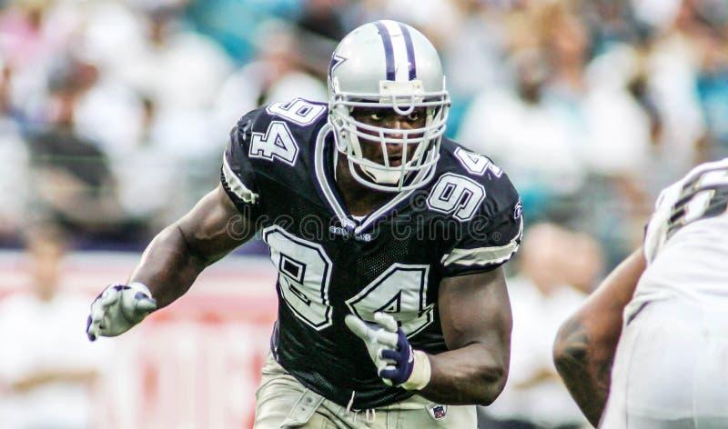 DeMarcus Ware, Dallas Cowboys royaltyfria foton