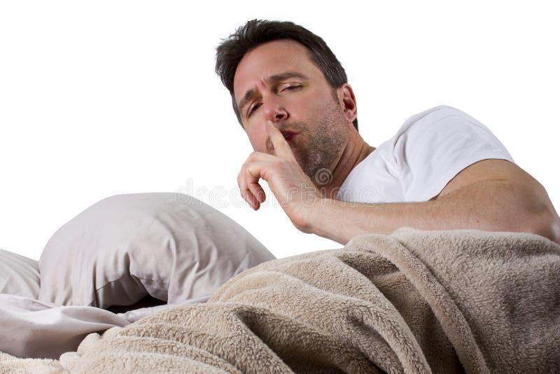 Demasiado ruidoso para dormir imagens de stock royalty free