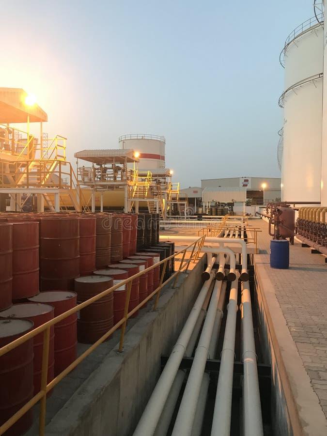 Demeanour elegante do campo petrolífero imagens de stock
