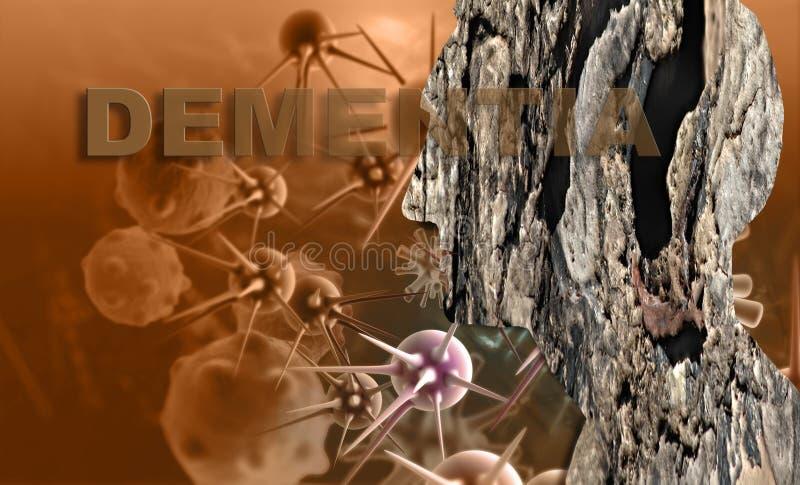 demens vektor illustrationer