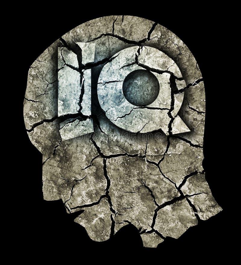 Dementia Intelligence Quotient Concept. stock illustration