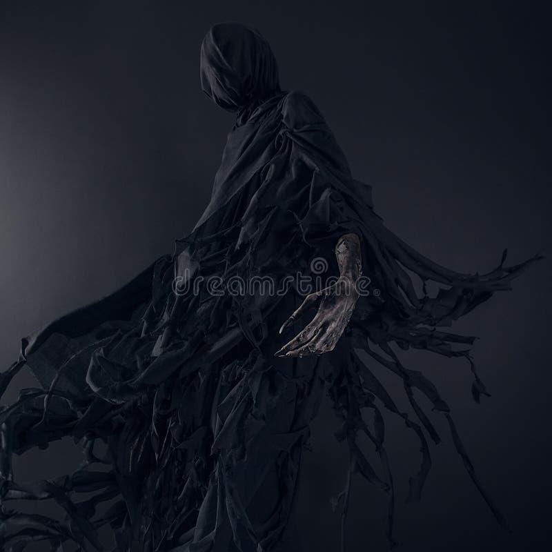 Dementor demon, ondska, död arkivbilder