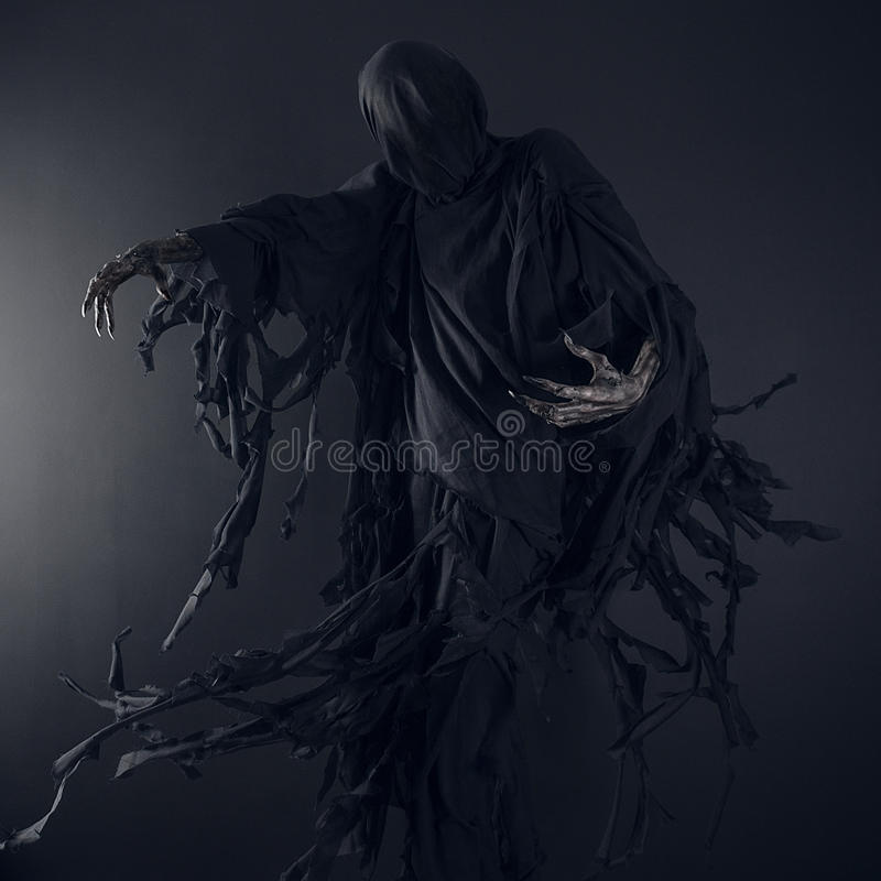 Dementor, demonio, mal, muerte imagenes de archivo