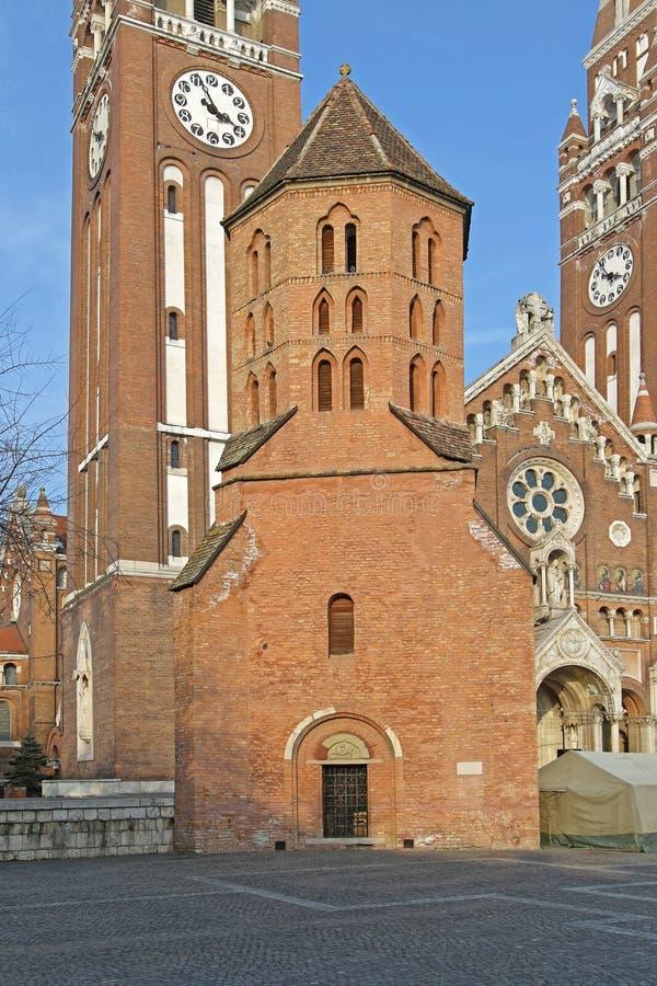 Demetrius Tower Szeged stock foto