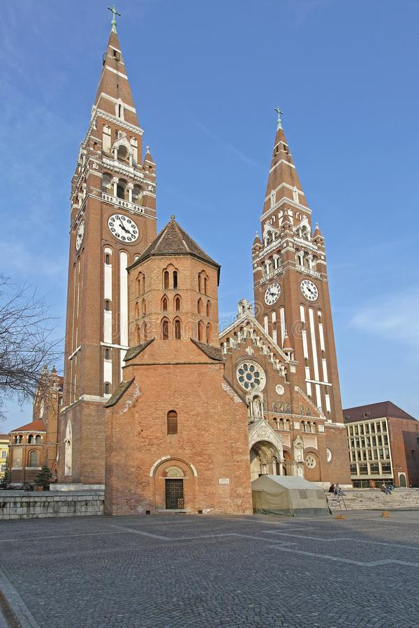 Demetrius Tower Szeged stock foto's
