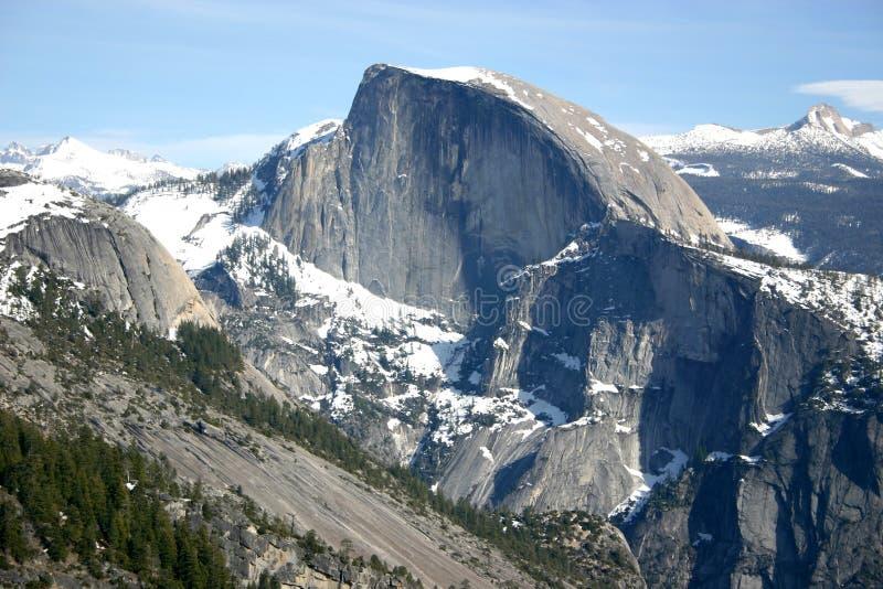 Demi de dôme de point de Yosemite photo stock