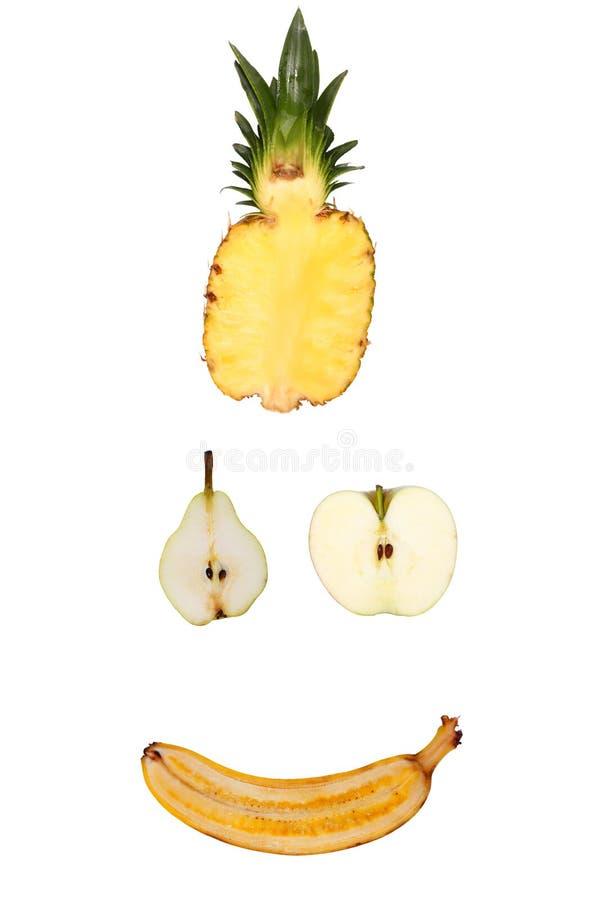 Demi de fruits photographie stock