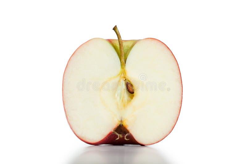 Demi de pomme images stock