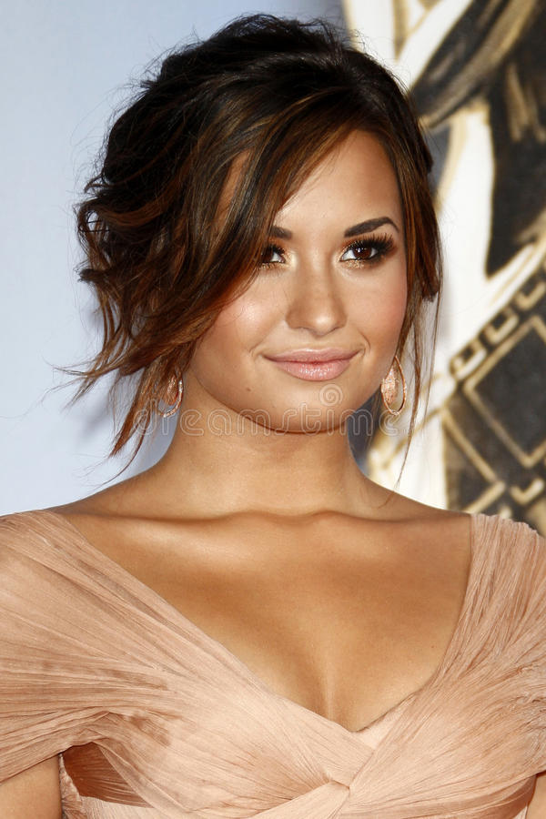 Demi Lovato photo libre de droits