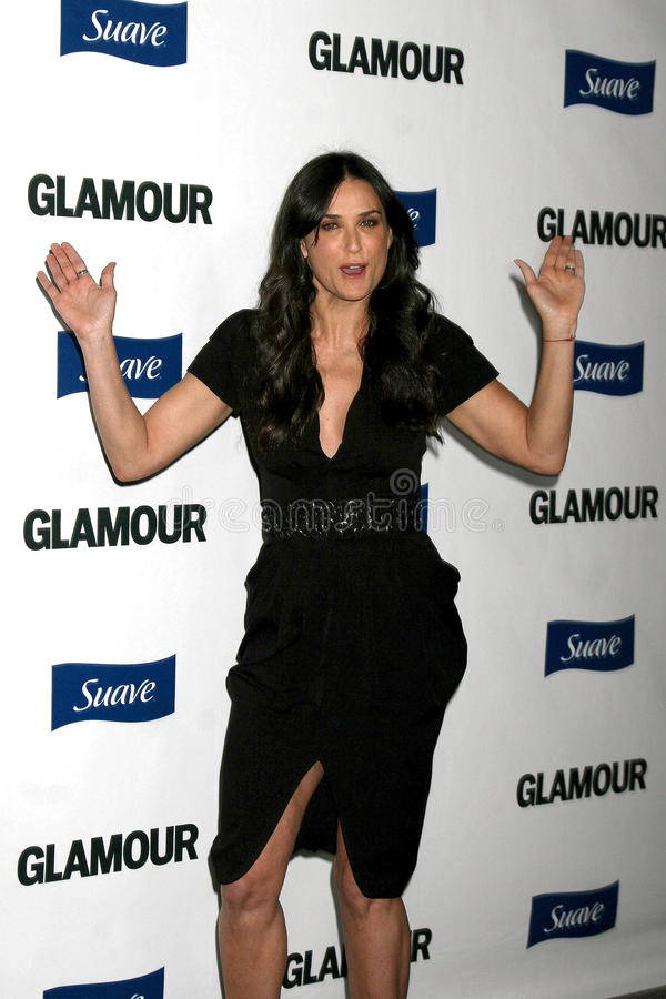 Demi Moore foto de stock royalty free