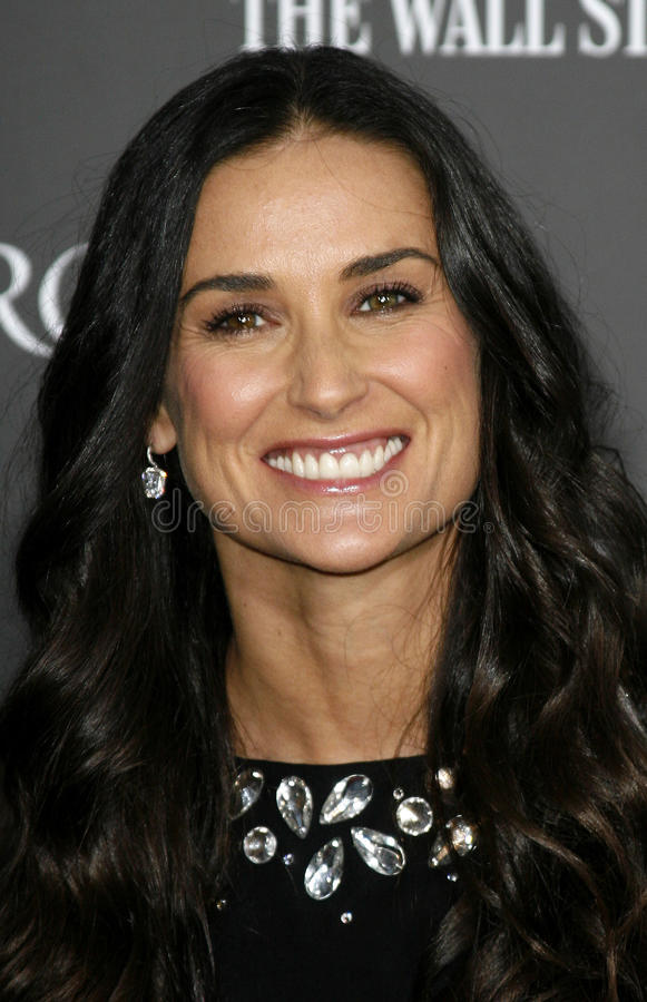Demi Moore. HOLLYWOOD, CALIFORNIA. Tuesday May 22, 2007. Demi Moore attends the Los Angeles Premiere of `Mr. Brooks` held at the Grauman`s Chinese Theater in stock image