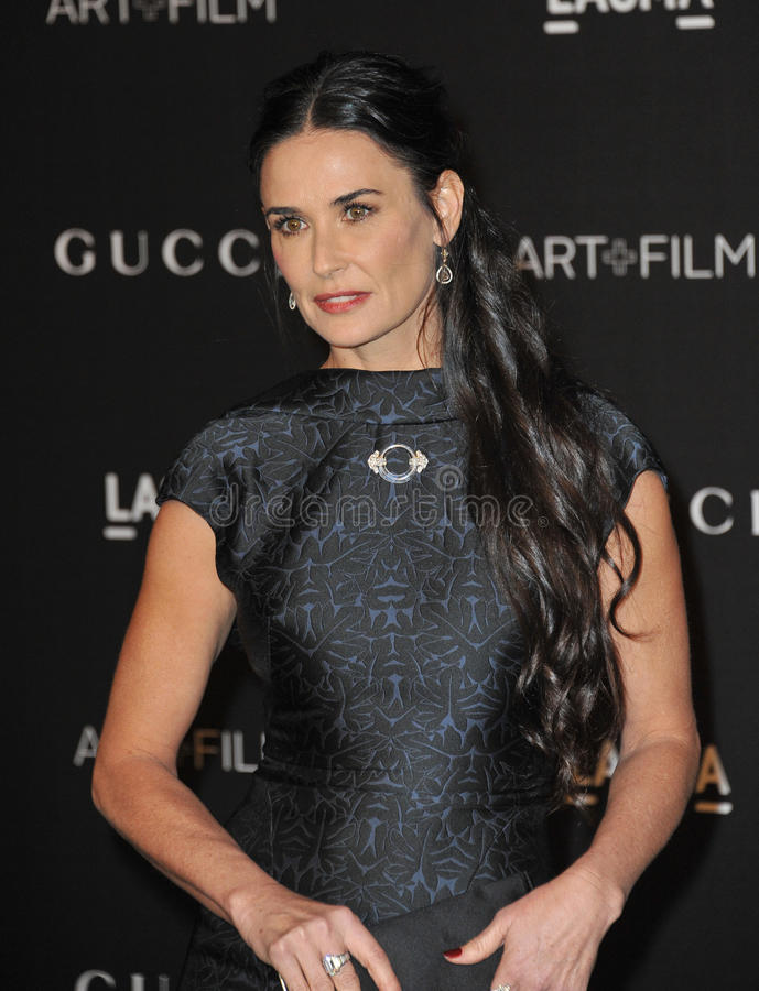 Demi Moore royalty free stock photography