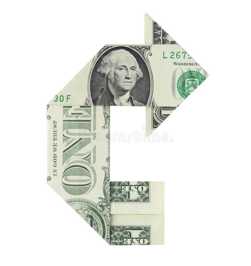 Demi-tour financier image libre de droits