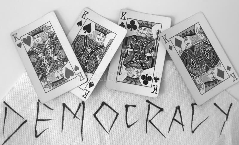 Democracia imagem de stock
