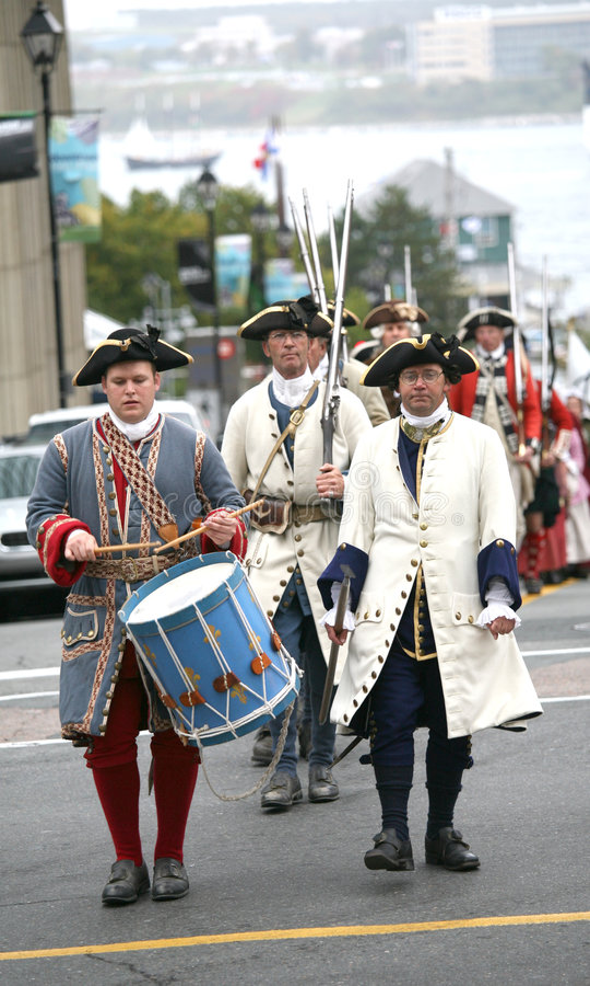 Democracy 250 years, 1758 Soldier Reinactment