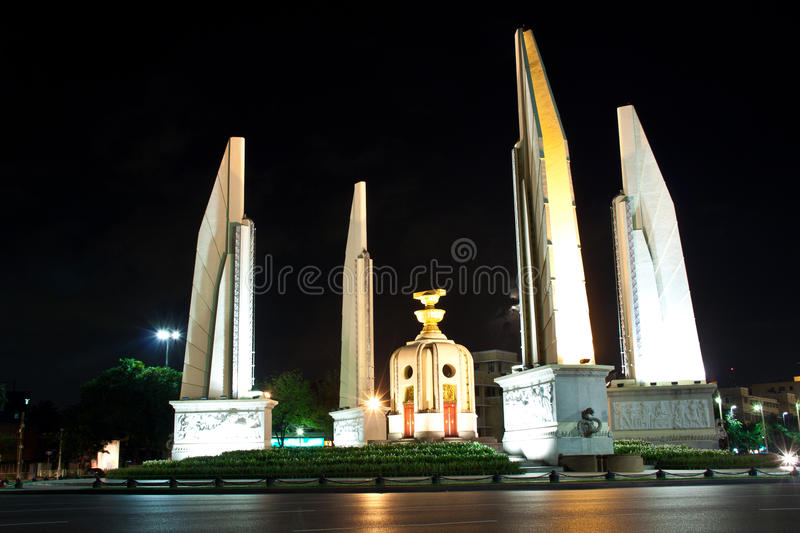The Democracy Monument Stock Images