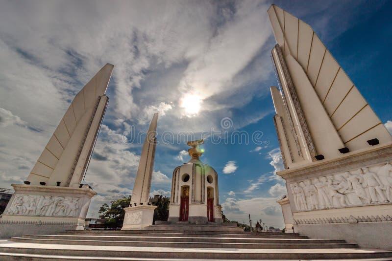 Democracy Monument stock photo