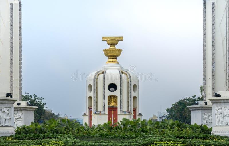 Democracy Monument landmark in Bangkok stock images