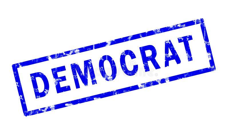 Democrat ilustração stock