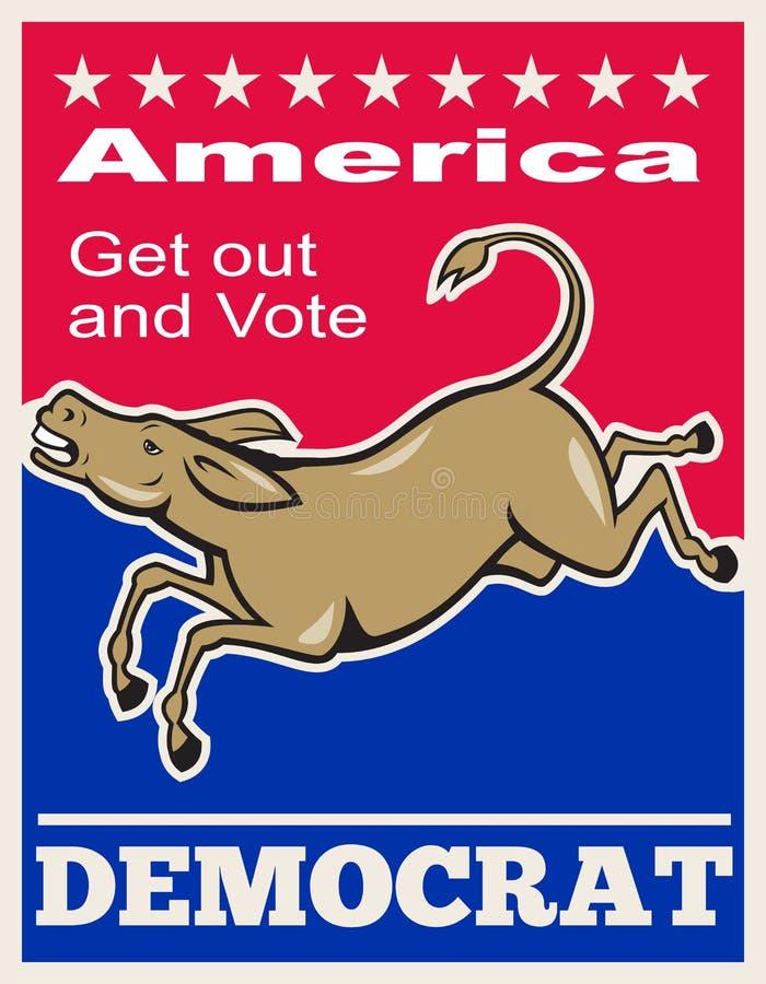 Download Democrat Donkey Mascot America Vote Editorial Stock Photo - Image: 26460103