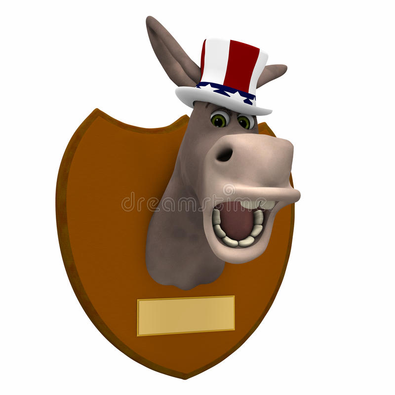 Download Democrat Mounted Stock Image - Image: 24649961