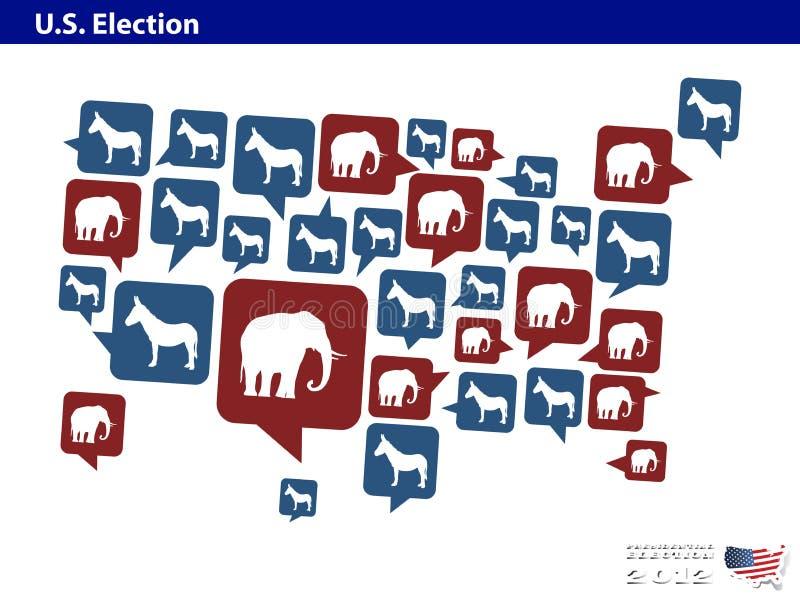 Download Democrat Or Republican In US Presidential 2012 Ele Editorial Photography - Illustration: 25974337