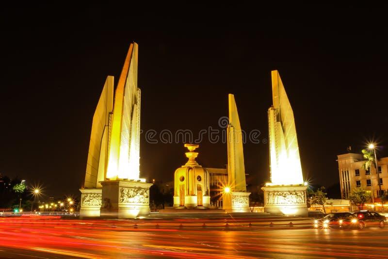 Democratiemonument, Bangkok Thailand royalty-vrije stock afbeelding