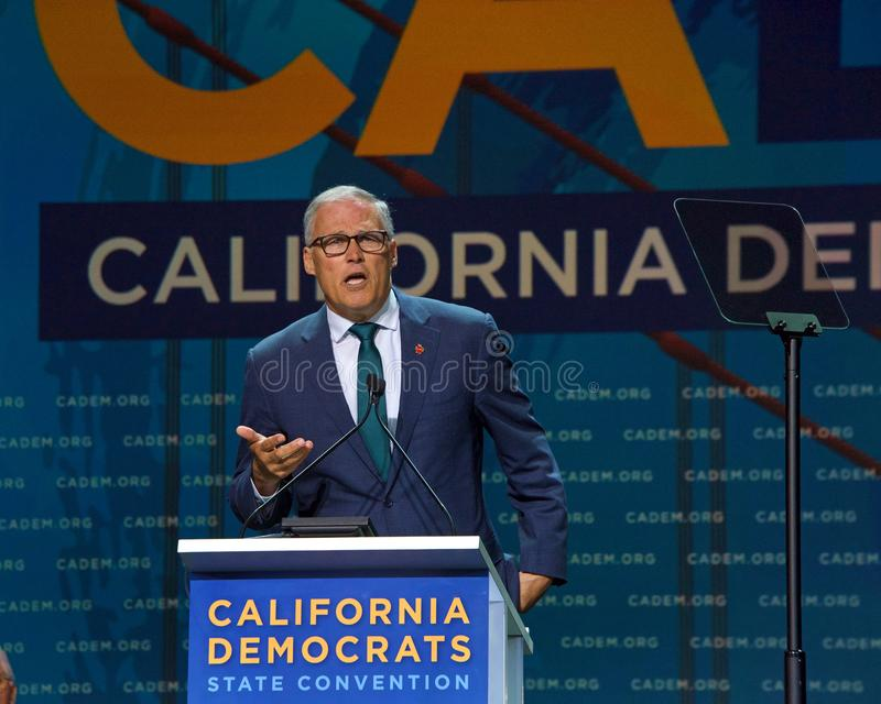2019 Democratische Nationale Overeenkomst, San Francisco, Californi? royalty-vrije stock afbeelding