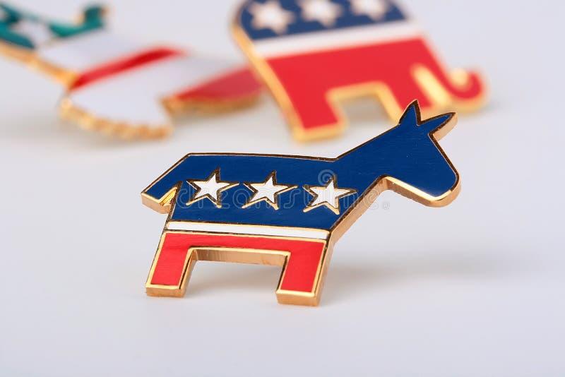 Democratische partij royalty-vrije stock afbeelding